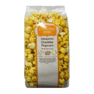 Choosy Chocolates Cheddar Jalapeno Popcorn