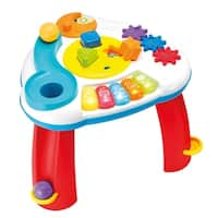 Winfun Multicolor Balls 'N Shapes Musical Infant Activity Table