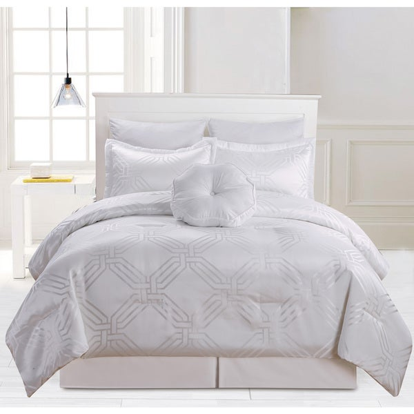 Tris 6-Piece Oversized and Overfilled Comforter Set