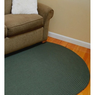 Madeira Indoor/ Outdoor Reversible Braided Rug (5' x 8')