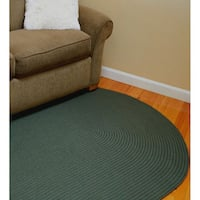 Madeira Indoor/ Outdoor Reversible Braided Rug (5' x 8') - 5' x 8'