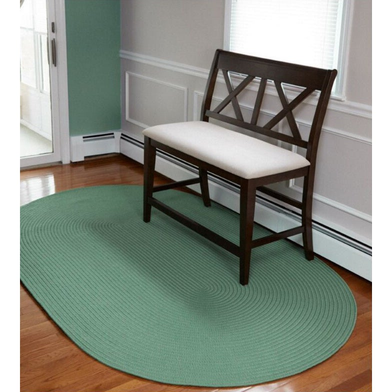Venice Indoor/ Outdoor Oval Rug by Rhody Rug (3' x 5') (B...