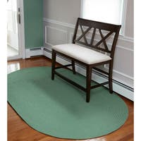 Venice Indoor/ Outdoor Oval Rug by Rhody Rug (3' x 5')