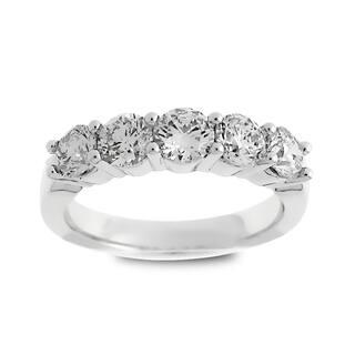 Azaro Jewelry 14k White Gold 1 1/2ct TDW Round Diamond Wedding Band|https://ak1.ostkcdn.com/images/products/12034459/P18906784.jpg?impolicy=medium