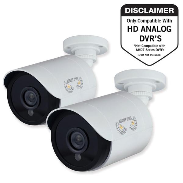 Night Owl CM-HDA10W-BU 2 Megapixel Surveillance Camera 1 Pack Color