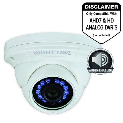 Night Owl CM-HDA10W-DMA 2 Megapixel Surveillance Camera - 1 Pack - Co