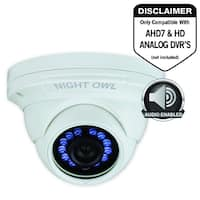 Night Owl CM-HDA10W-DMA 2 Megapixel Surveillance Camera - 1 Pack - Co