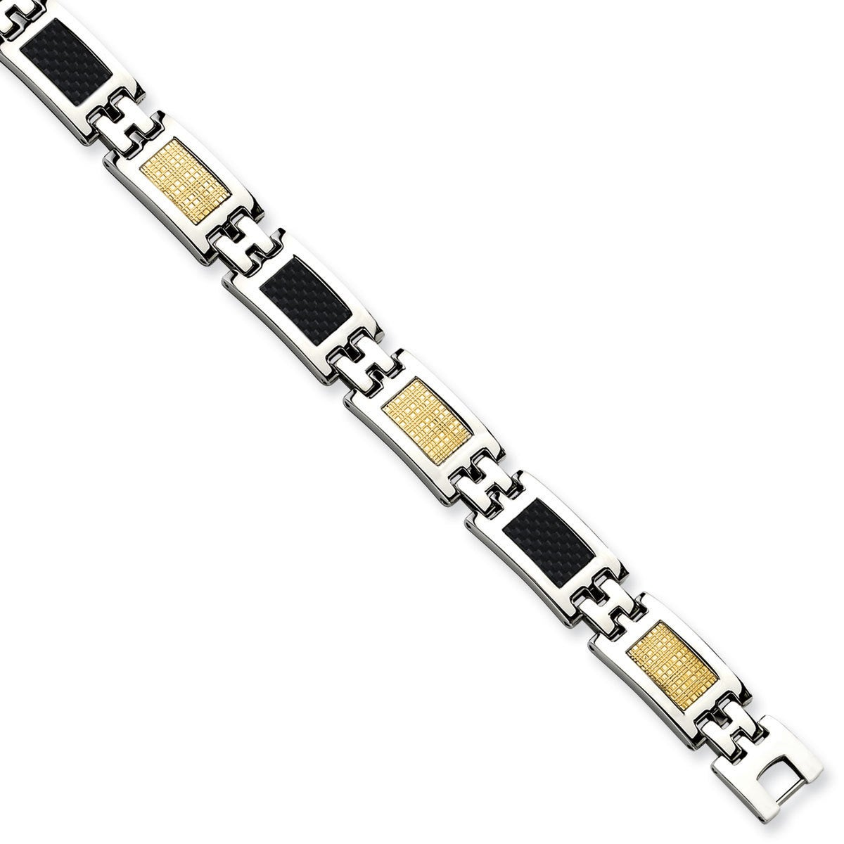 Chisel Versil Stainless Steel/Carbon Fiber/14k Gold-fille...