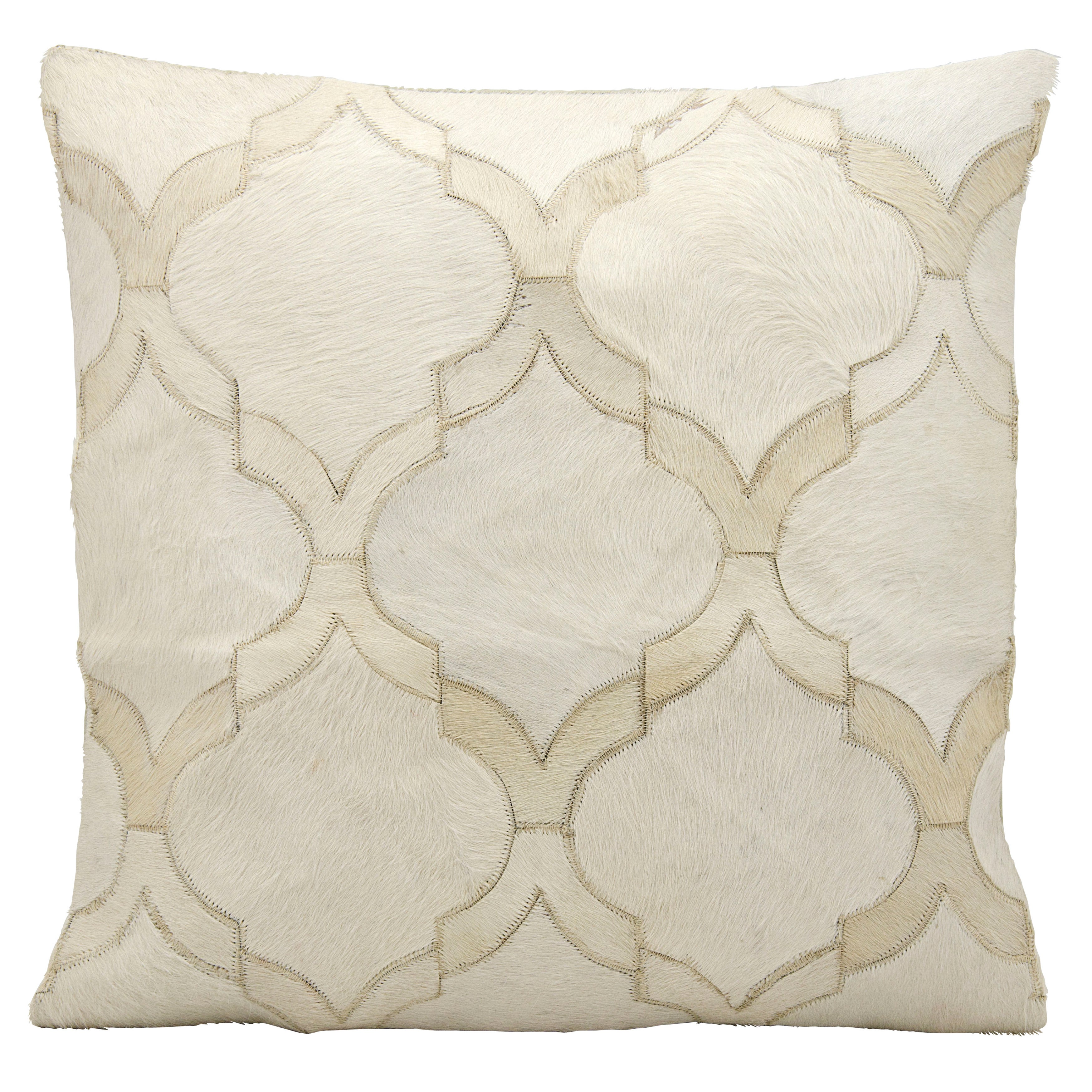 Nourison Mina Victory Mina Victory M879 White Decorative Pillow 20 X 20