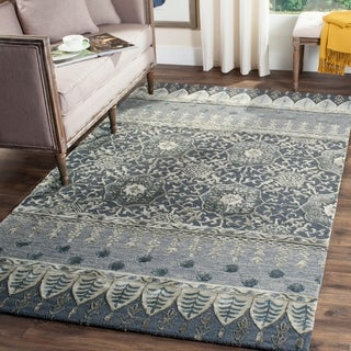 Safavieh Handmade Allure Denim Wool Rug (4' x 6')