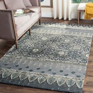 Safavieh Handmade Allure Denim Wool Rug (5' x 8')