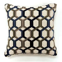 Furniture of America Mozzie Geometric Print Accent Pillow (Set of 2)