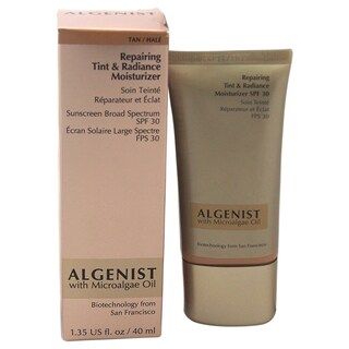Algenist Repairing Tint & Radiance 1.35-ounce Moisturizer Sunscreen Broad Spectrum SPF 30 Tan