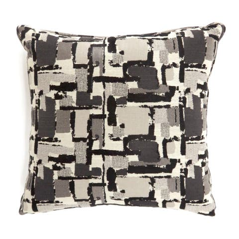 Furniture of America Wyon Contemporary Fabric Throw Pillows (Set of 2)