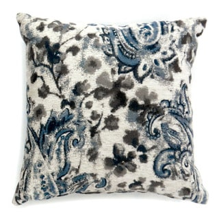 Furniture of America Cannes Floral Print Accent Throw Pillow (Set of 2)
