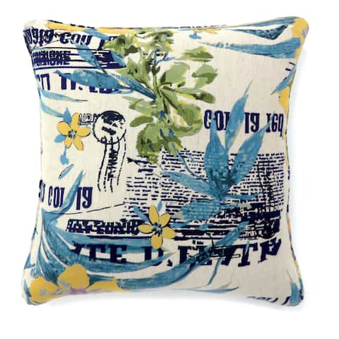 Furniture of America Touring Printed Accent Pillow (Set of 2)