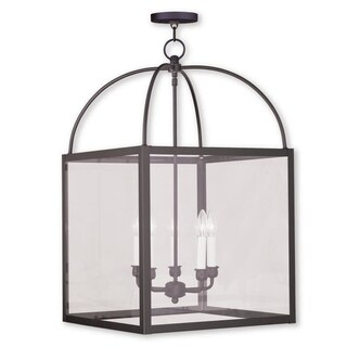 Livex Lighting Milford Black Steel 5-light Lantern
