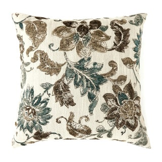 Furniture of America Shannon Floral Accent Throw Pillow (Set of 2)