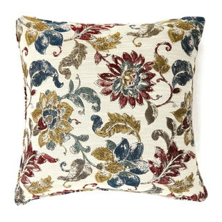 Furniture of America Eunice Floral Accent Throw Pillow (Set of 2)