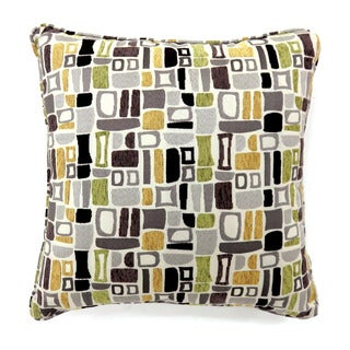 Furniture of America Gamli Geometric Pattern Throw Pillow (Set of 2)
