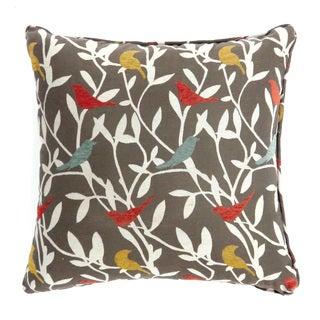 Furniture of America Meca Contemporary Fabric Throw Pillows Set of 2