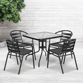 31.5-inch Square Tempered Glass Metal Table|https://ak1.ostkcdn.com/images/products/12035778/P18907716.jpg?impolicy=medium