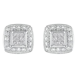 925 Sterling Silver 1/8ct T.W. Fashion Earring (I-J, I2-I3)