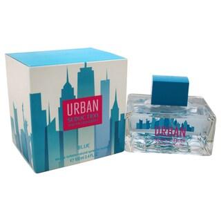 Antonio Banderas Urban Seduction Blue Women's 3.4-ounce Eau de Toilette Spray