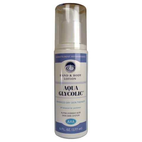 Aqua Glycolic 6-ounce Hand and Body Lotion