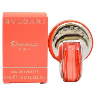 Bvlgari Omnia Coral Women's 5 ml Eau de Toilette Splash (Mini)