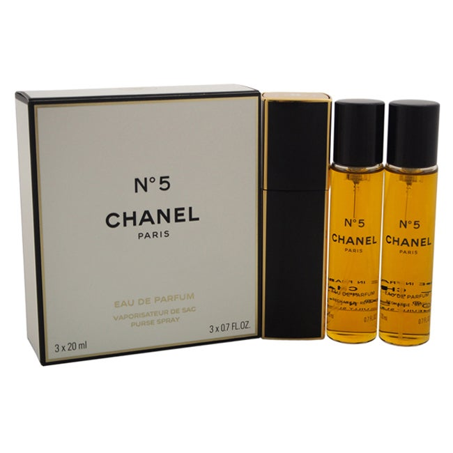 Chanel No.5 Women's 0.7-ounce Eau de Parfum Purse Spray p...
