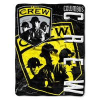 MLS 059 Columbus Crew Concrete Micro Raschel Throw
