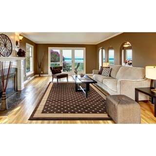 Concord Global Jewel Anise Area Rug - 6'7 x 9'3