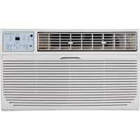 Keystone 115V White Through-the-wall Air Conditioner with Follow Me LCD Remote Control
