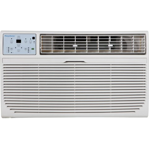 Keystone KSTAT12-1C 12,000 BTU 115-volt Through-the-wall Air Conditioner with Follow Me LCD Remote Control