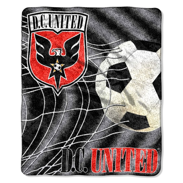 MLS 065 D.C. United Sherpa Throw