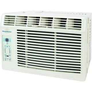 Keystone KSTAW06B 6,000 BTU 115-volt Window-mounted Air Conditioner with Follow Me LCD Remote Control