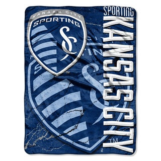 MLS 059 Sporting KC Concrete Micro Raschel Throw