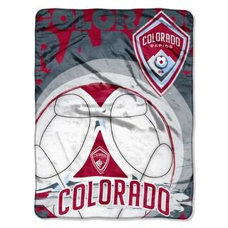 Colorado Rapids MLS Techno Micro Raschel Throw