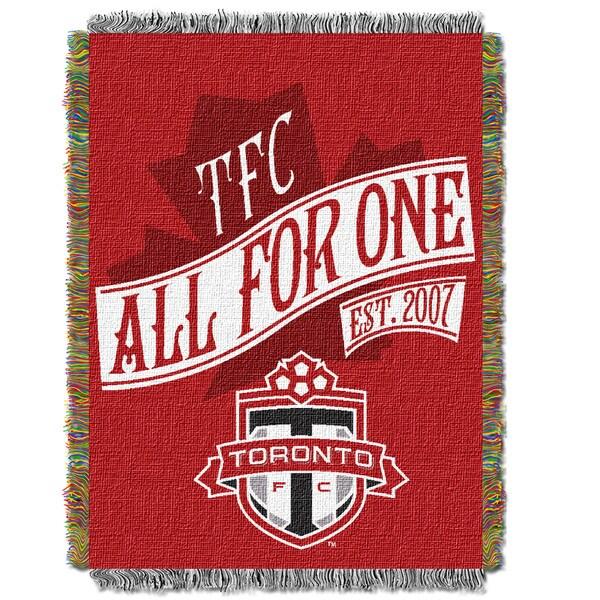 MLS 051 Toronto FC Handmade Multicolor Polyester Tapestry