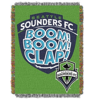 MLS 051 Seattle Sounders Handmade Tapestry Throw