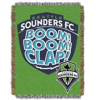 MLS 051 Seattle Sounders Handmade Tapestry Throw