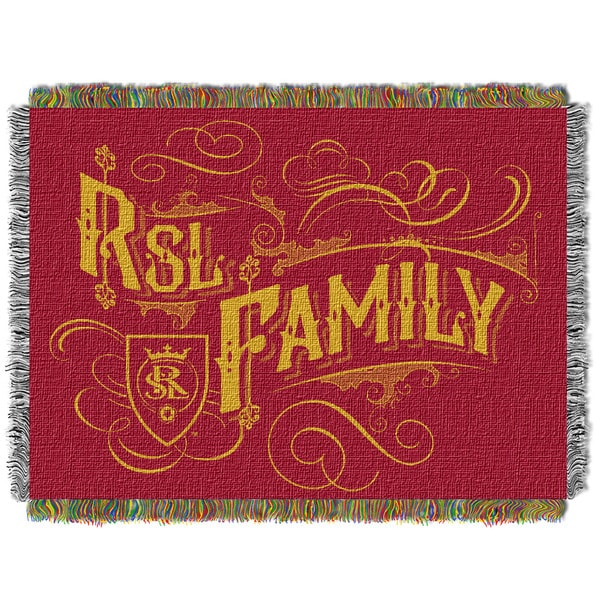 MLS 051 Real Salt Lake Handmade Polyester Tapestry