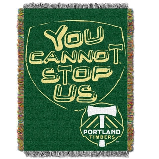 MLS 051 Portland Timbers Multicolor Polyester Handmade Tapestry