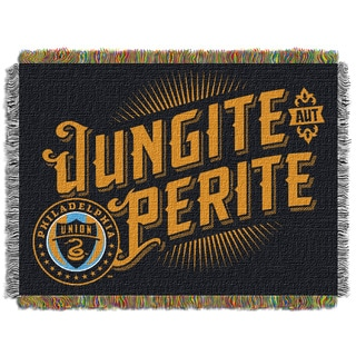 MLS 051 Philadelphia Union Handmade Tapestry Throw
