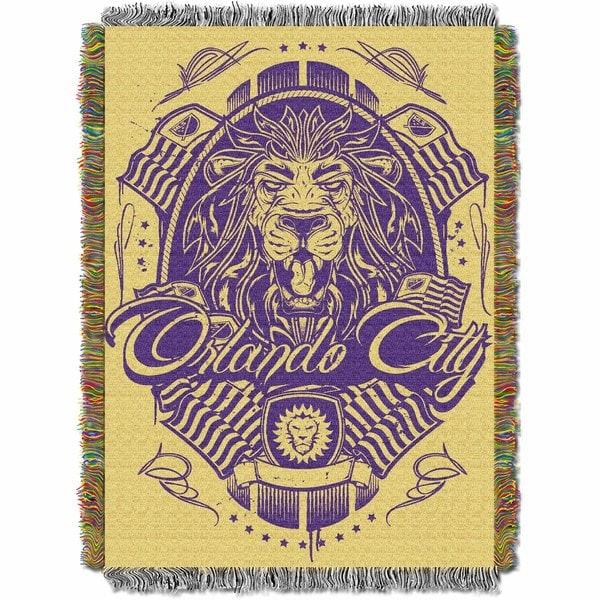 MLS 051 Orlando City FC Handmade Tapestry