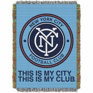 MLS 051 N.Y. City FC Handmade Tapestry
