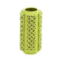 Light Green Ceramic Vase with a Glossy Finsih