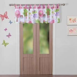 Greenland Home Fashions Woodland Girl Multicolored Window Valance
