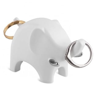 Umbra Anigram White Elephant Ring Holder